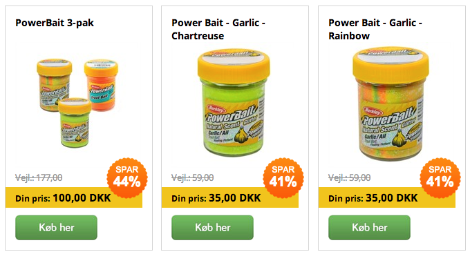 billig powerbait online
